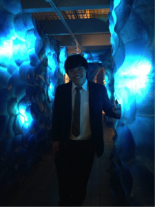 Chern Wei during Cornell's 2014 Grad Ball at the Museum of the Earth